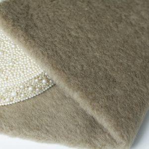 Овечья шерсть 181-811 Серо-коричневый