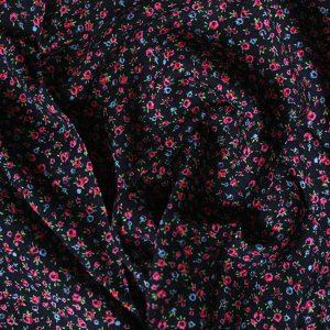 IF107 цветы на черном