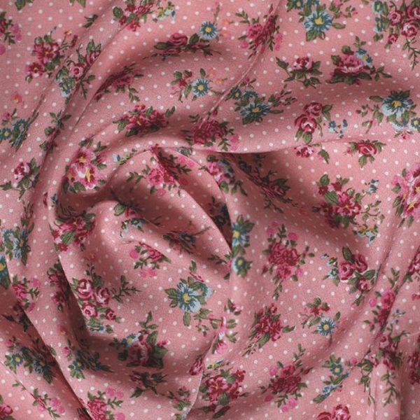 IF108 цветы на розовом