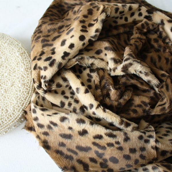Вискоза 6 мм бежевый кот