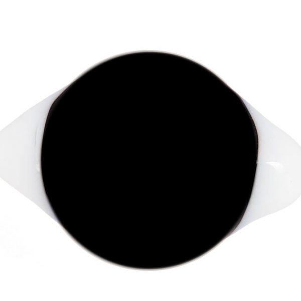 Глаза с белками черные глянцевые
