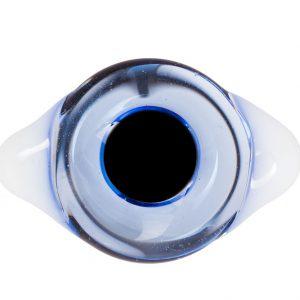 Глаза с белками Голубые