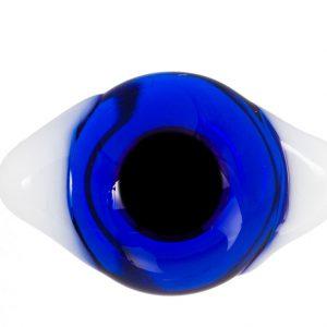 Глаза с белками Темно-синие