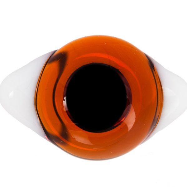 Глаза с белками Светло-коричневые