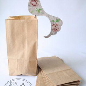 Крафт-пакет без ручки 19*10*7 см