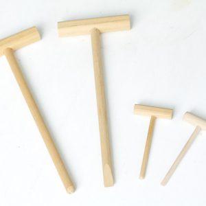 Палочка для набивки деревянная с ручкой