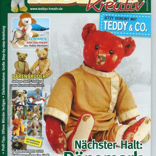 """Журнал """"Teddys Kreativ"""" 2017/01"""