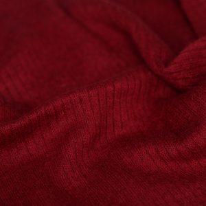 Вязаный трикотаж 102 Темно-красный
