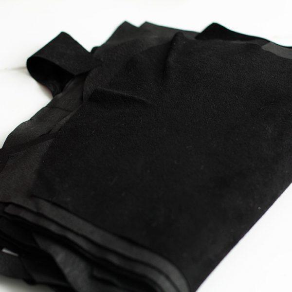 Замша натуральная Z70 Черный